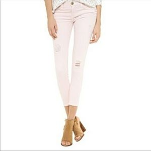 Current/Elliott The Stiletto Destroyed Ankle Jeans